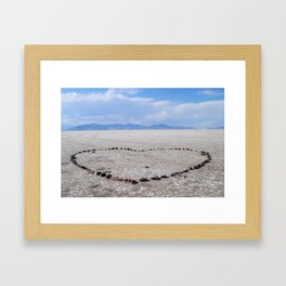 Love in the Flatlands Framed Art Print