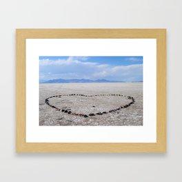 Love in the Flatlands Framed Art Print