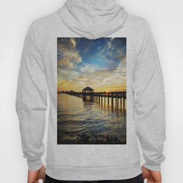 Biloxi Bay Sunset Hoody