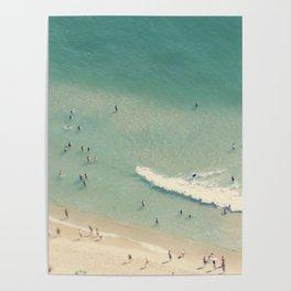 beach love II - Nazare Poster