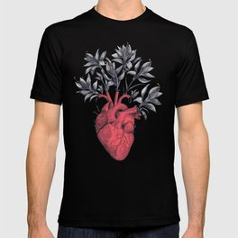 Blooming heart T-shirt