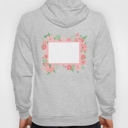 Frame with flowers Hoody