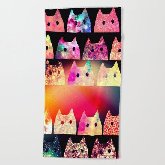 cat-254 Beach Towel