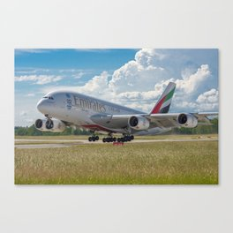 On Vacation Canvas Print