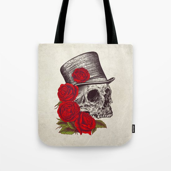 Dead Gentleman Tote Bag