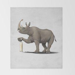 Cork it, Dürer! [HD] (Wordless) Throw Blanket