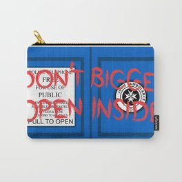 Don't Open, Bigger Inside Carry-All Pouch
