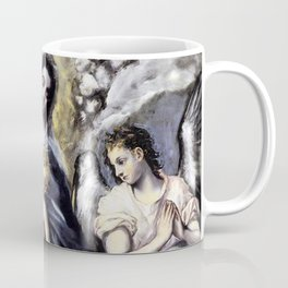 "El Greco (Domenikos Theotokopoulos) ""The Virgin and Child with St. Martina and St. Agnes"" Coffee Mug"