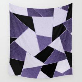 Ultra Violet Geometric Glam #1 #geo #decor #art #society6 Wall Tapestry
