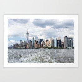 NYC Skyline 2017 Art Print