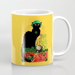 St Patrick's Day - Le Chat Noir Coffee Mug