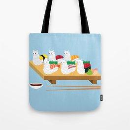 Alpaca Sushi Tote Bag