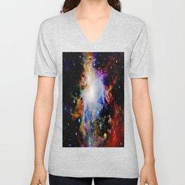 GaLaXY : Orion Nebula Dark & Colorful Unisex V-Neck