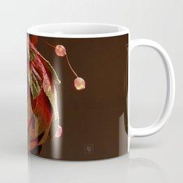 Red, Leafy and Playful Coffee Mug