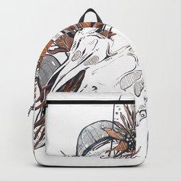 MorbidiTea - Earl Grey with Ram Skull Backpack