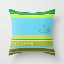 ITSASOA Throw Pillow