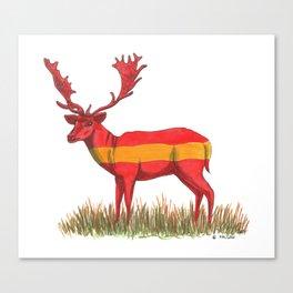 SPANISH Fallow Deer Canvas Print