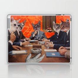 Cats have an agenda Laptop & iPad Skin