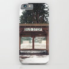 Slocan City Bus Stop iPhone 6s Slim Case
