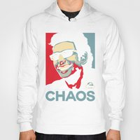 jurassic park Hoodies featuring 'Chaos' Ian Malcolm (Jurassic Park) by Tabner's