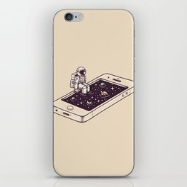 Dip in iPhone Skin