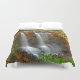 The Grotto is flowing Duvet Cover