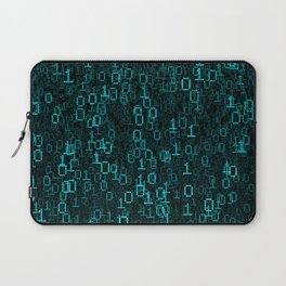 Binary Data Cloud Laptop Sleeve