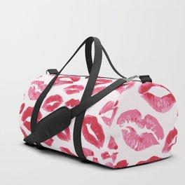 Lipstick Kisses Duffle Bag