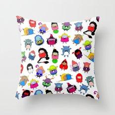 fairy tale peeps Throw Pillow