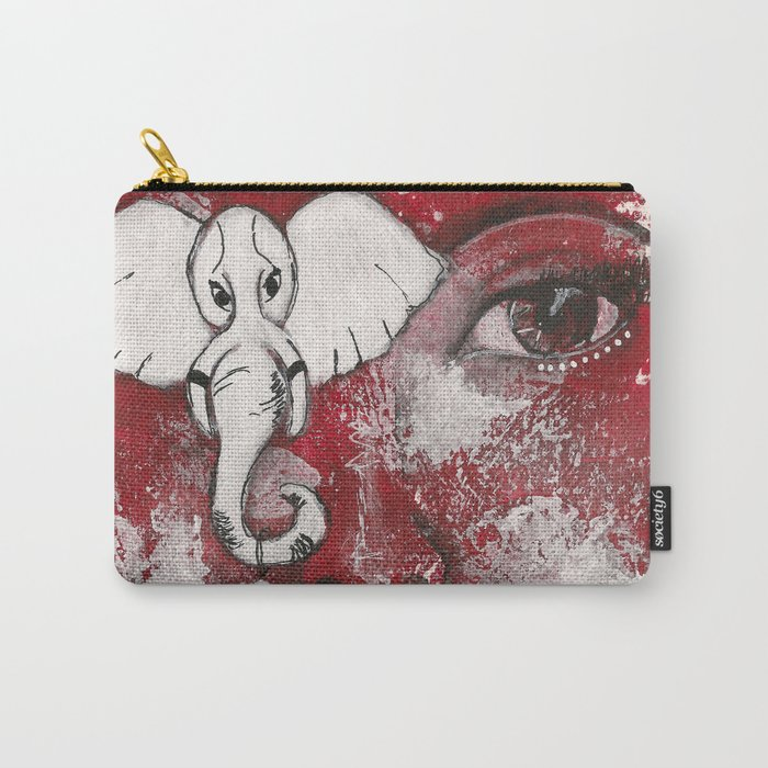 Come Thru Diva Carry-All Pouch