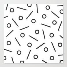 Fun Minimal Canvas Print
