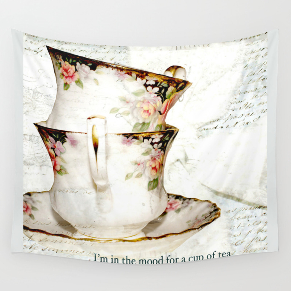 I'm In The Mood For A Cup Of Tea Tapestry by Karencox TPS1090739