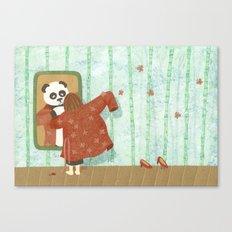 Bamboo (Bambouseraie) Canvas Print