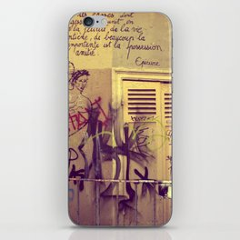 French Graffiti, Paris-2 iPhone Skin