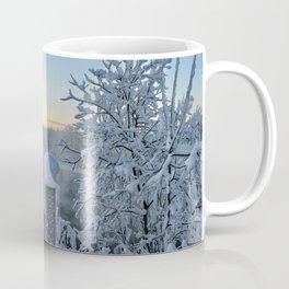 Winter on the Chena River Coffee Mug