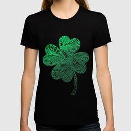 Lucky 4-Leaf Clover - LaurensColour T-shirt