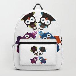 Owl Crowd Backpack