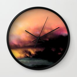 High Feelings by Debbie Porter - Designs of an Eclectique Heart Wall Clock