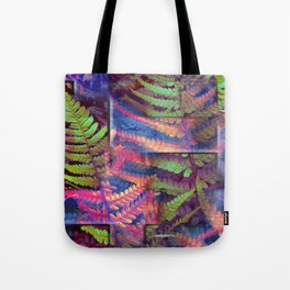Farn abstrakt Tote Bag