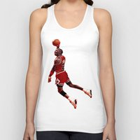 lakers Tank Tops featuring MJ  by VeilSide07