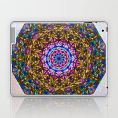 Vibrant mystic kaleidoscope Laptop & iPad Skin