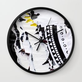 Electromagnetic Pulse Wall Clock