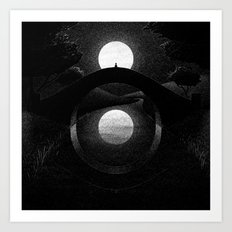 Drawlloween 2014: Eye Art Print