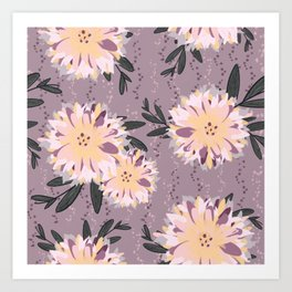 Fancy Floral Art Print