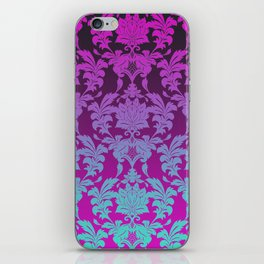 Ombre Damask iPhone Skin