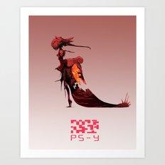 PS- Y design Art Print