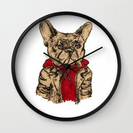 Cool Dog Wall Clock