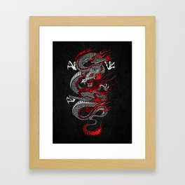 Asian Dragon Framed Art Print