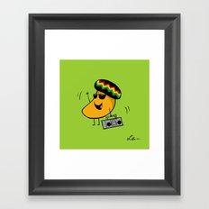 Jamaican Mango Framed Art Print
