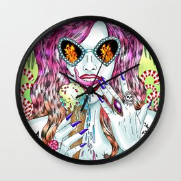 Untamed Shrew Wall Clock